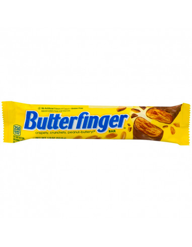 NESTLE BUTTER FINGER BARRE CHOCOLAT CACAHUETES
