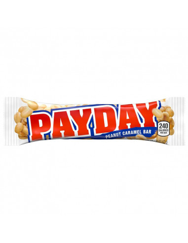 HERSHEY  PAY DAY BARRE CACAHUETES ET CARAMEL